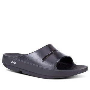 Oofos Womens Ooahh Luxe Slide
